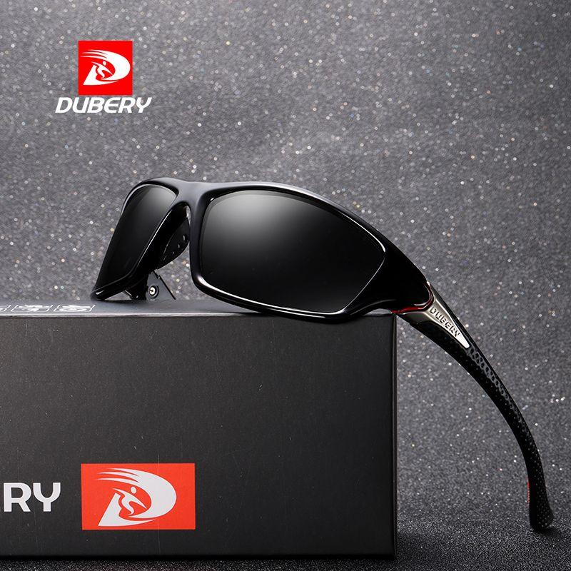 Men's Glasses Apparel Accessories Sporting Dubery Brand Design Mens Glasses Polarized Night Vision Sunglasses Mens Retro Male Sun Glass For Men Uv400 Shades