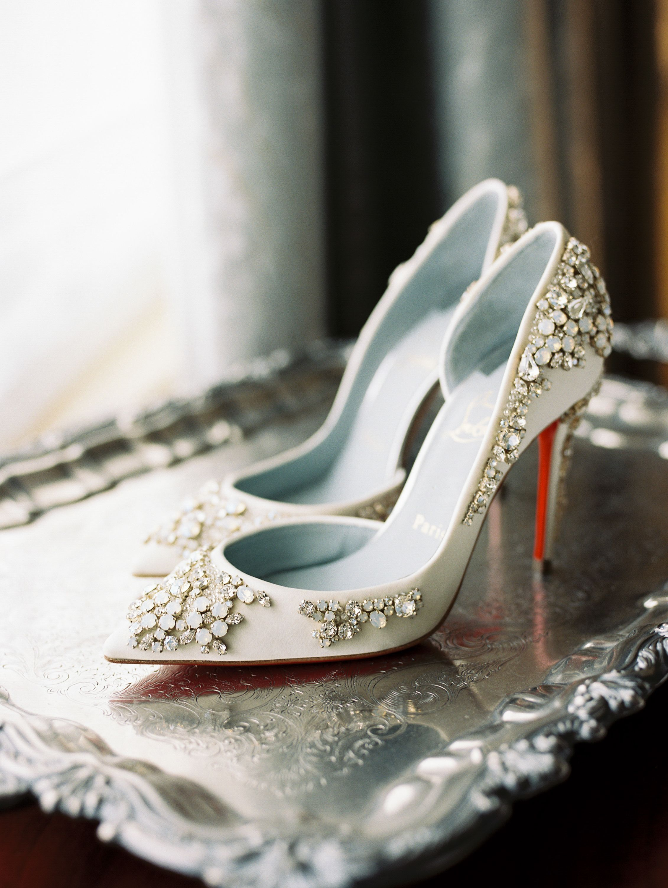 Glamorous Pink Maryland Wedding At Oxon Hill Manor Unique Wedding Shoes Wedding Shoes Bridal Shoes