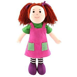 Rag Doll Rosanne - soft toys & dolls