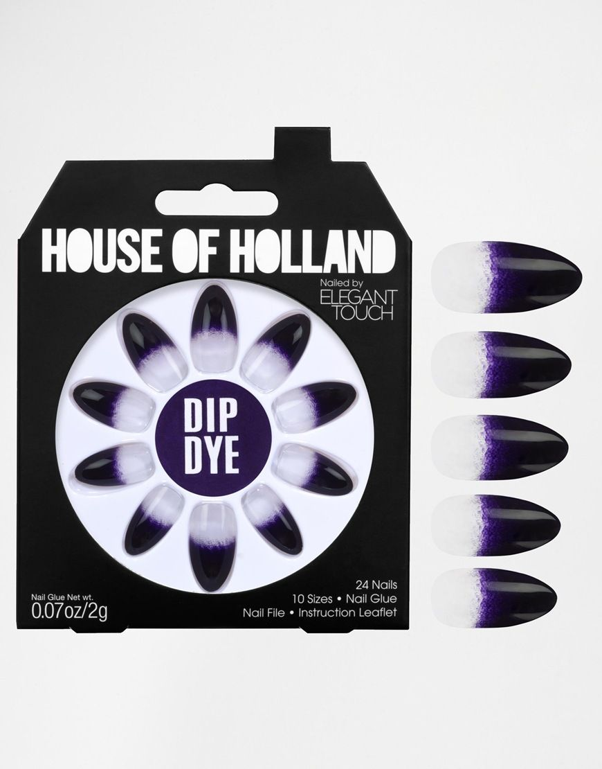 House Of Holland Nails By Elegant Touch - Dip Dye | all i want for ...