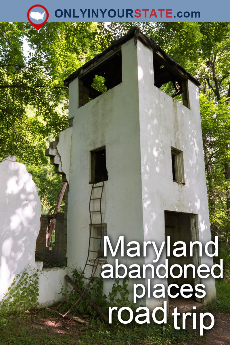 The Ultimate Terrifying Maryland Road Trip Is Right Here