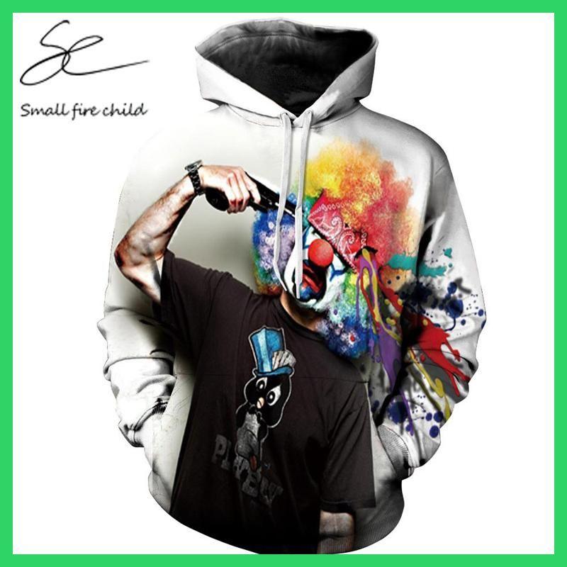 9Yourtime Fire Printed Hoodie Sweatshirt Streetwear Hoody Fashion Casual Pullover