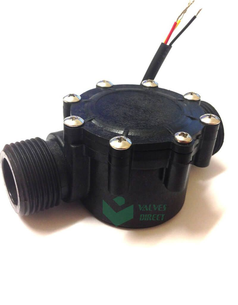 Flow Sensor 1 Inch 2 100lpm Pulse Output Valves Direct Irrigation Controller Sensor Flow