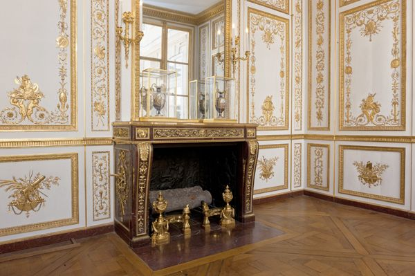 This is versailles louis xvi 39 s wardrobe versailles for Chambre louis xvi versailles