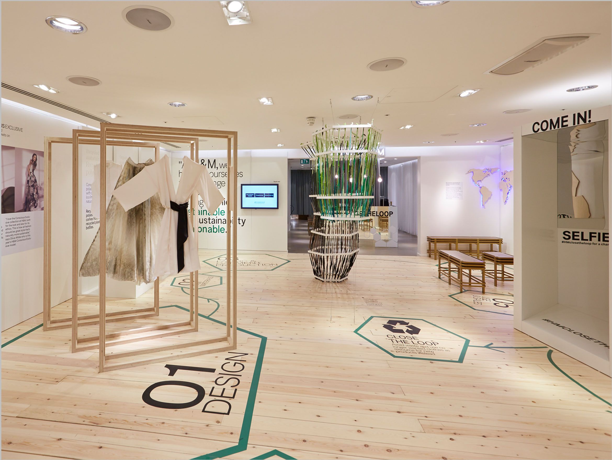 FormRoom for H&M | Conscious Lounge Pop-Up, Oxford Circus ...