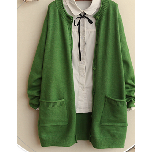 كارديجان قصير صوف ابيض وردي Fashion Cardigan Sweaters