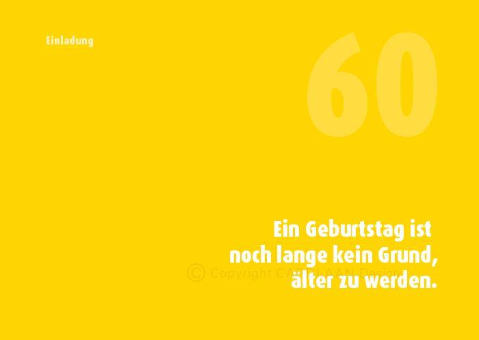 Einladung 60 Geburtstag Weisheit Von Cardlaan Auf Dawanda Com