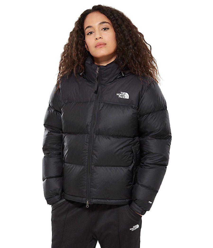 The North Face Retro Nuptse Jacket Black Footasylum North Face Womens 1996 Retro In 2021 North Face Puffer Jacket North Face Women 1996 Retro Nuptse Jacket [ 1050 x 900 Pixel ]