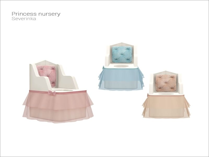 Toddler potty  Found in TSR Category 'Sims 4 Kids Furniture'