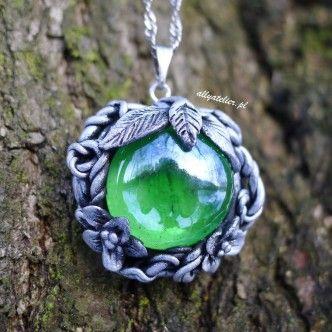 Mystic, fairytale pendants. Hand-made, polymer clay.