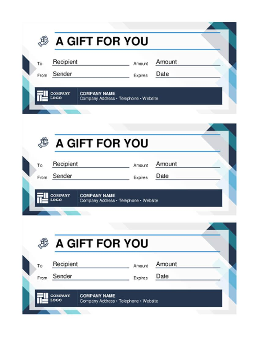 The Awesome 20 Best Free Business Gift Certificate Templates Ms Word Throughout Mi Gift Certificate Template Gift Card Template Free Gift Certificate Template