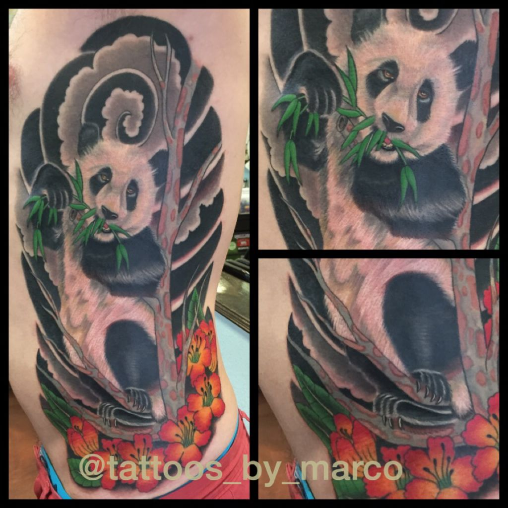 Panda Tattoo Panda Chinese Panda Japanese Tattoo Japanese Panda