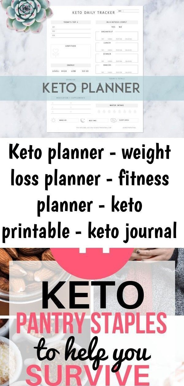 #fitness #Jou #Keto #Loss #Planner #Printable #Weight KETO PLANNER - Weight loss planner - Fitness P...
