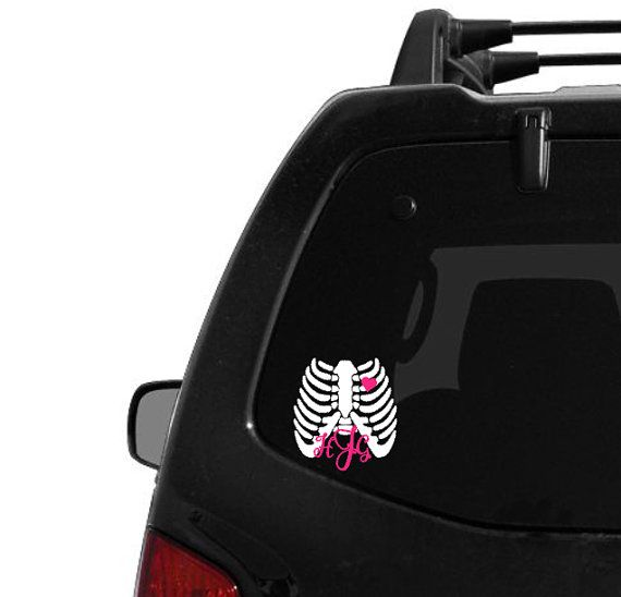 x-ray tech decal- medical decal- x ray | x rays, x ray tech and, Human Body