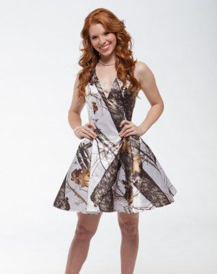 Camo Short Party Dresses