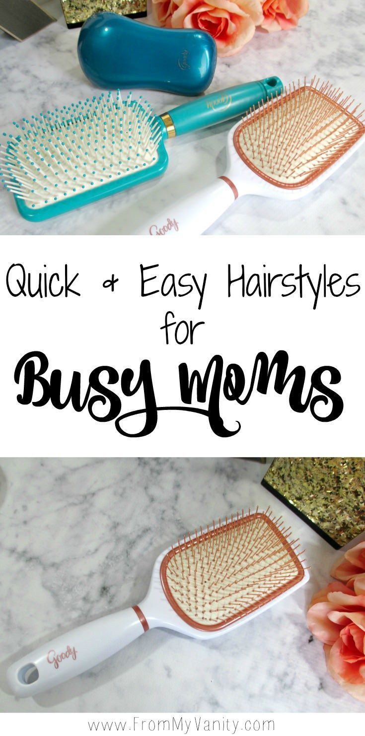 Two quick and easy hairstyles for those mornings when youure in a