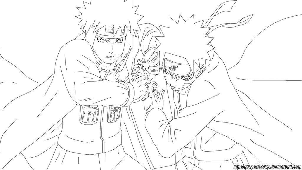 Naruto Rasengan Lineart By Zeth3047 On Deviantart Illustrations