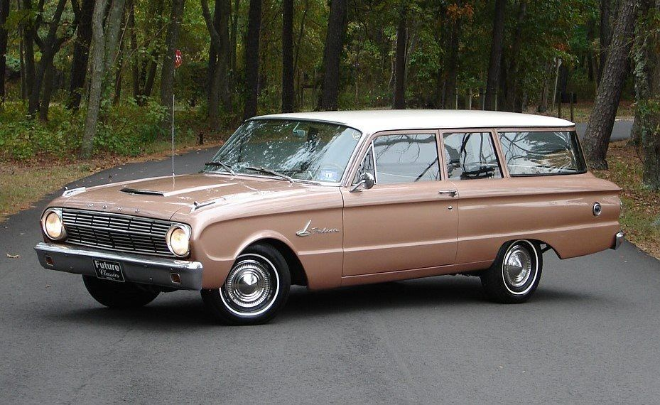 1963 Ford Falcon Futura 2 Door Wagon With Images Ford Falcon