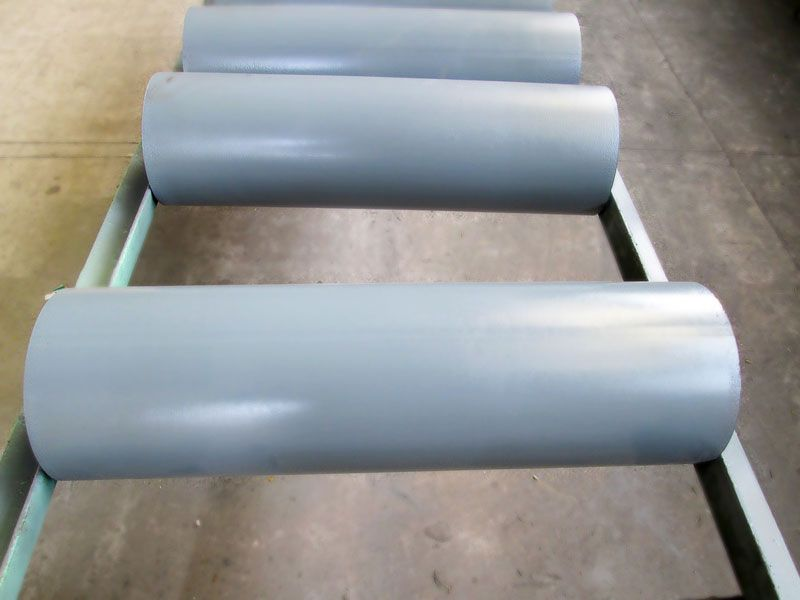 Belt conveyor roller is an important part for belt conveyor. It accounts for 35% of a belt conveyor total cost and bears more than 70% of the resistance.