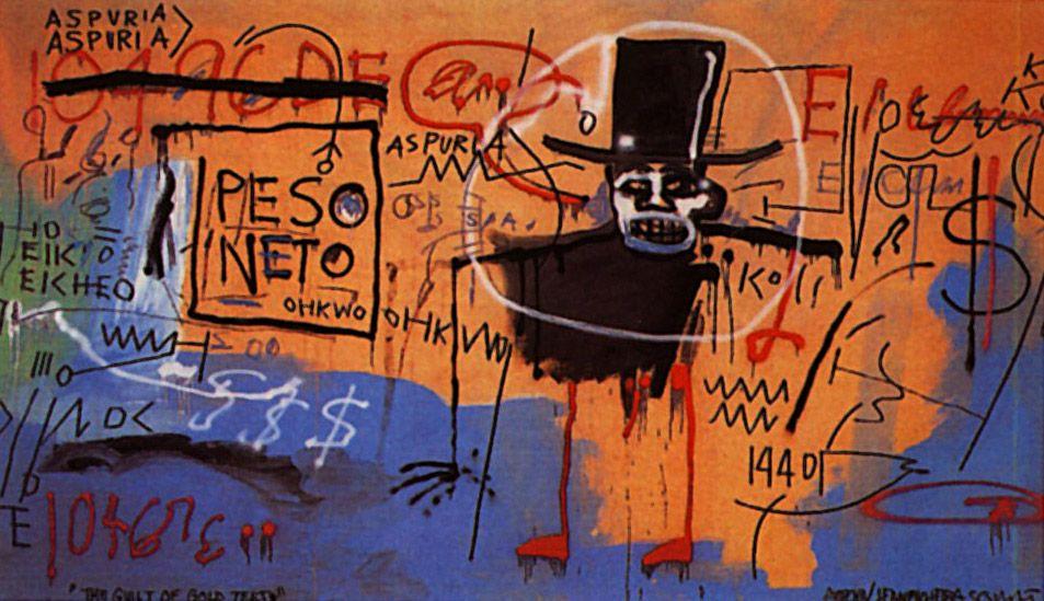 The Guilt of Gold Teeth - Jean-Michel Basquiat