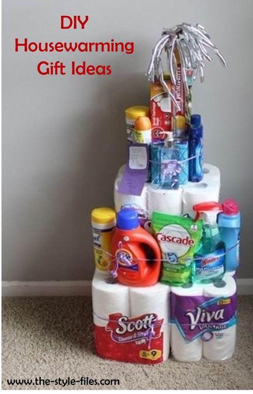 Housewarming Gift Idea Tower Of Home Essentials