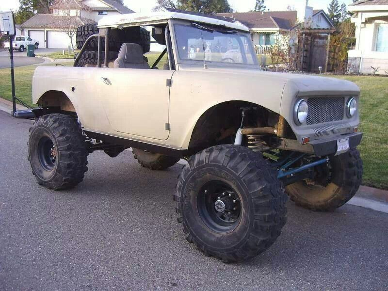 Chopped Up Monster Scout 80 Ih Scout Scout Ii