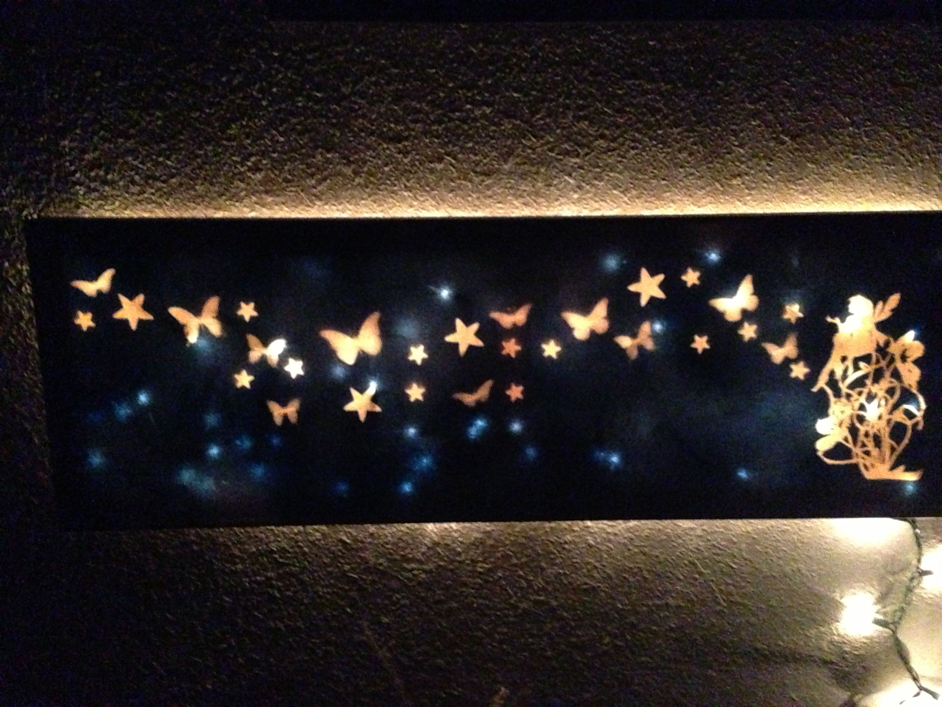 Diy Wall Decor Lights : First diy light up canvas canvases