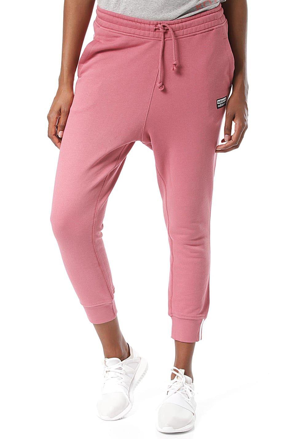 adidas Originals Pant Trainingshose für Damen Rot
