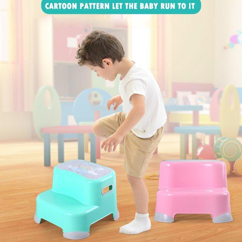 Stupendous Kids Plastic Fashion Design Cartoon Baby Bathroom Step Stool Evergreenethics Interior Chair Design Evergreenethicsorg