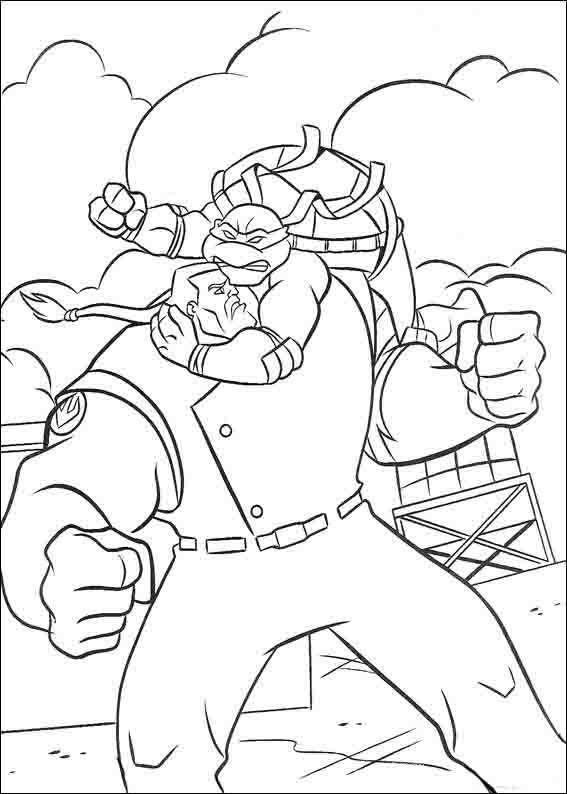 Dibujos para Colorear Tortugas Ninja 26 | Dibujos para colorear para ...