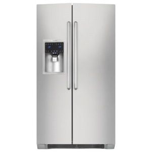 Electrolux Eei23cs35ks Iq Touch French Door Refrigerator Stainless Steel Side By Side Refrigerator Stainless Steel Counters Electrolux