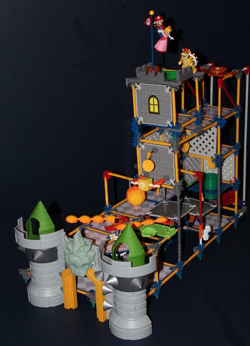 Epic Mario Bowser S Castle Le Chateau De Bowser K Nex