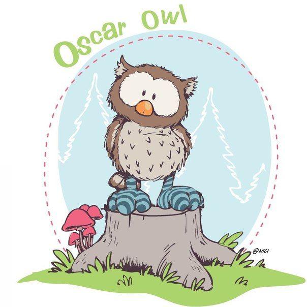 nici oscar owl  nici eulen zeichnen skizzen