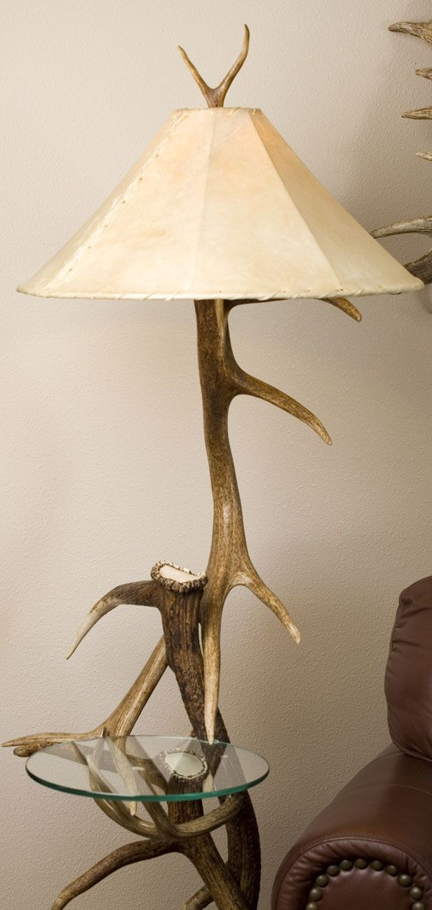 Floor Lamp With Table Attached Best Wooden Floor Lamp With Table Attached  Httpargharts Inspiration Design