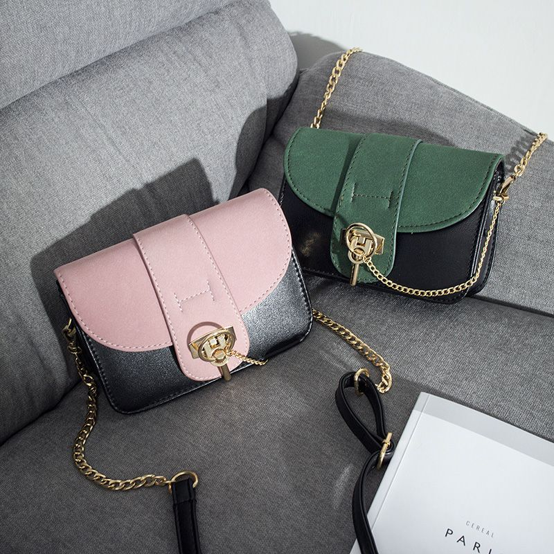 Female bag 2017 new fashion Satchel Bag chain Small Shoulder Bag Handbag bag color matte