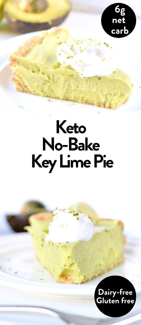Keto Avocado Key Lime Pie Vegan Paleo Keto Sweetashoney In 2020 Low Carb Recipes Dessert Keto Recipes Easy Sugar Free Recipes