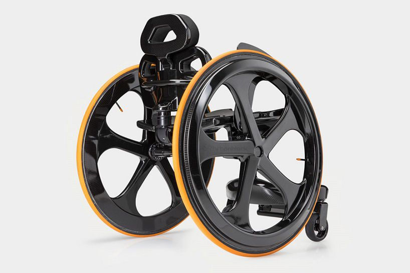 andrew slorance reinvents the wheelchair out of carbon fiber
