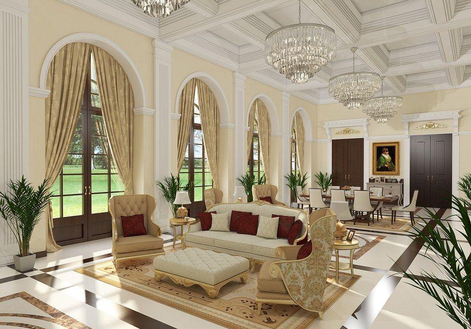 Classic Living Room  Vray Renderahmed Taha  Comet Group Interesting Classic Living Rooms Interior Design Design Inspiration