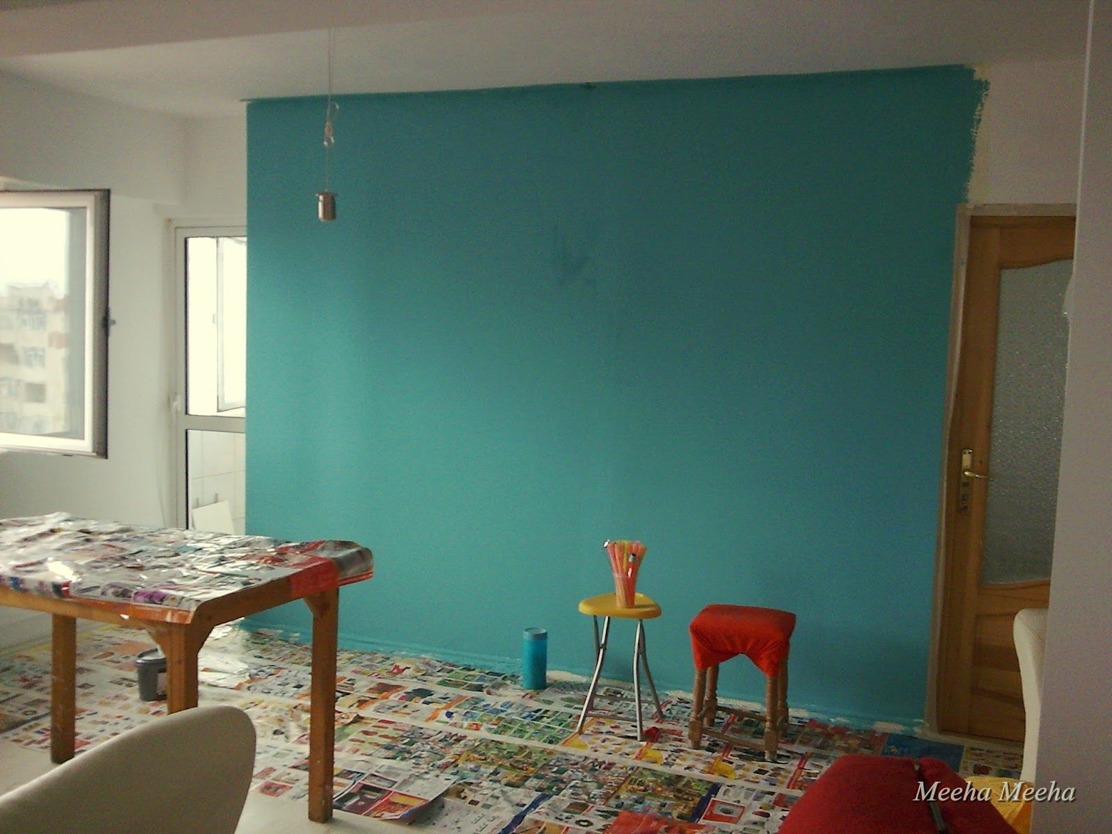 Before And After Turquoise Living Room Living Room Turquoise Living Room Paint Teal Wall Colors