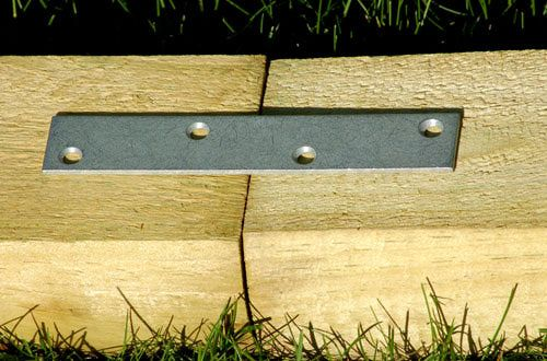 finish off flower beds in style with landscape timber edging yard