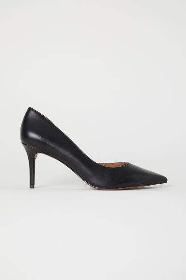 c6b0bded1 H&M Pumps with Pointed Toes - Black | Products | Shoes, Stylish ...