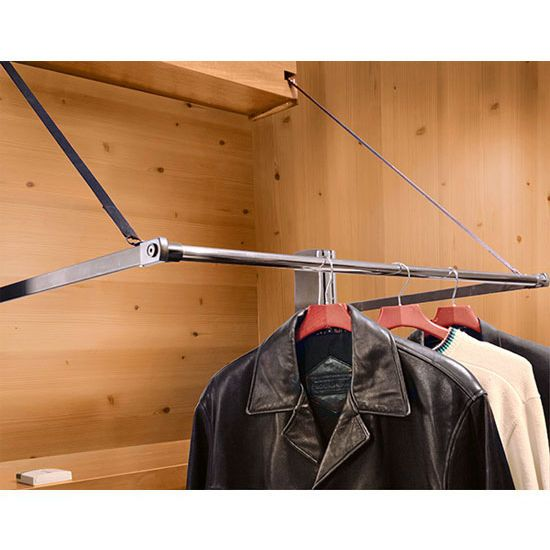 Hafele Motorized Wardrobe Lift Offers Effortless Access To An Upper Row Of  Clothes Installed Near The Ceiling Of Your Closet, Double Your Closet  Storage ...