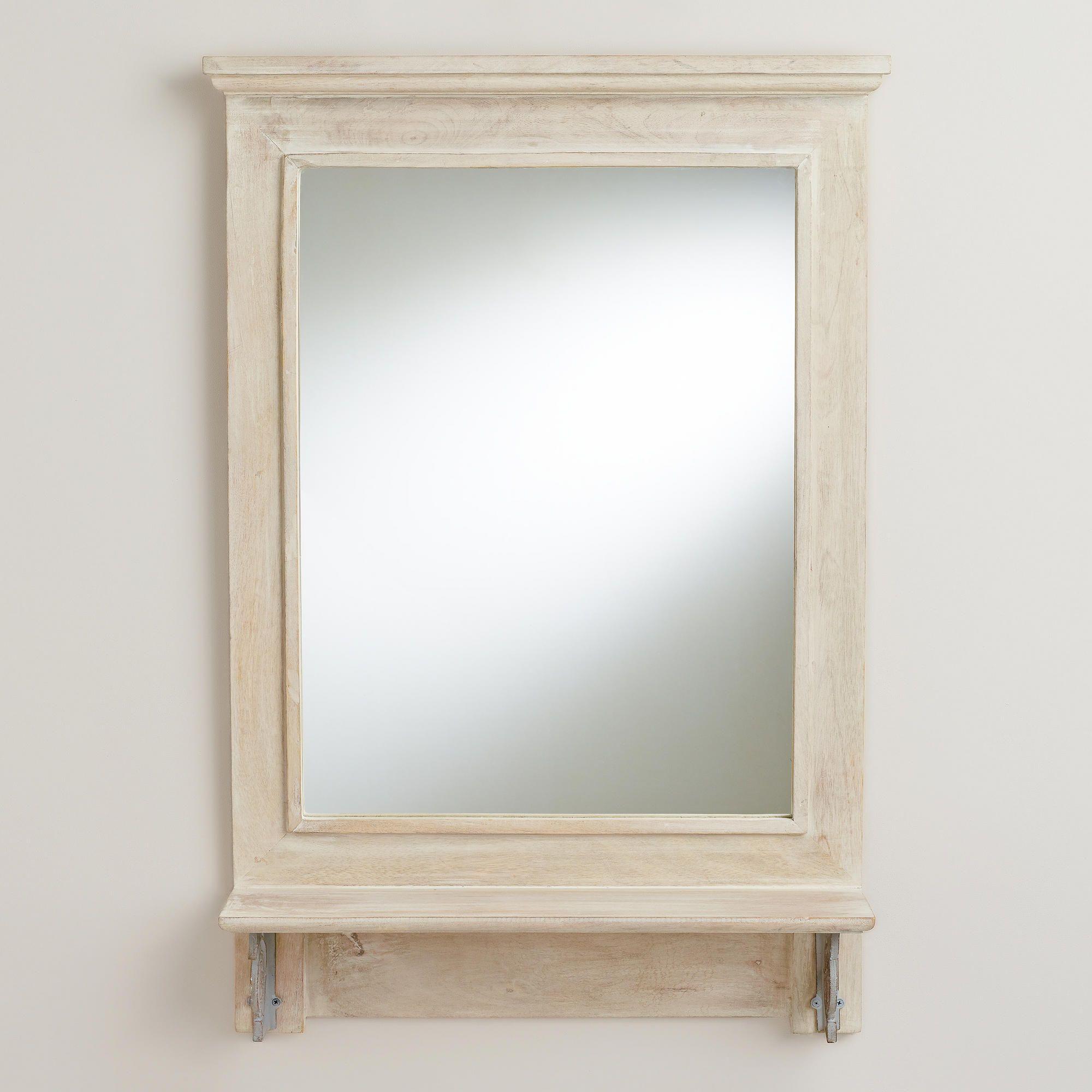 Carter Shelf Wall Mirror Mirror wall bedroom, Mirror