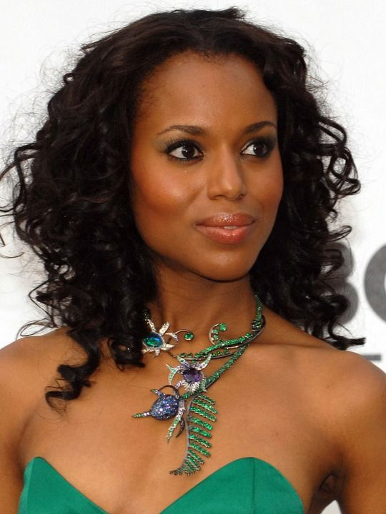 Kerry Washington - Brains and beauty.. I love the fact she is politically consciousness and voices her viewpoint.