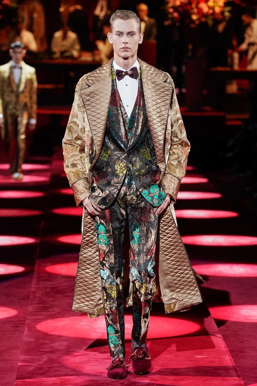 Dolce & Gabbana FallWinter 2019 Milán Fashion Week in