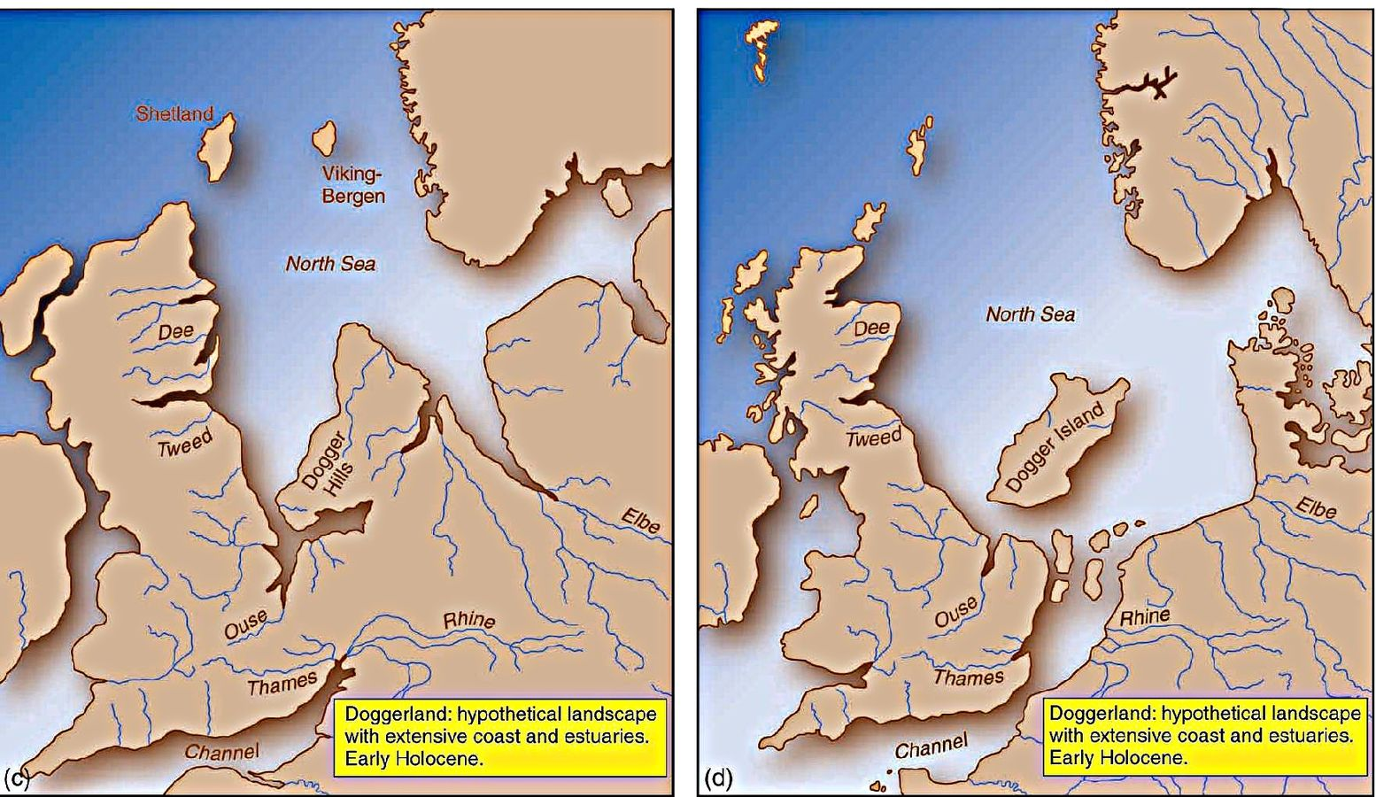 doggerlands lost world shows melting glaciers have drowned lands before and may again