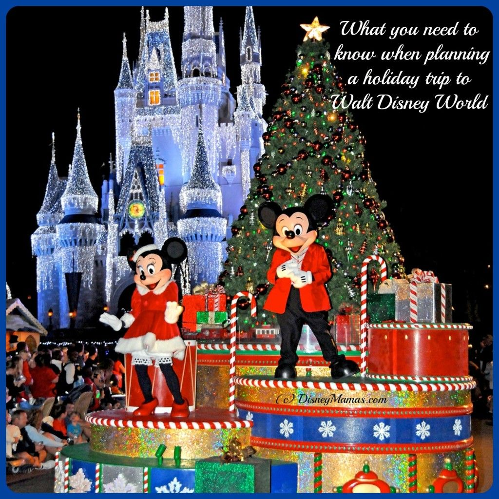 Planning a Holiday Trip to Walt Disney World or The Line