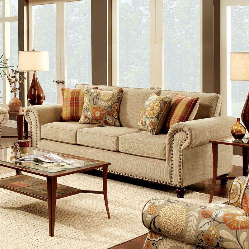 Rollins Sofa Rustic Living Room Wall Decor Living Room