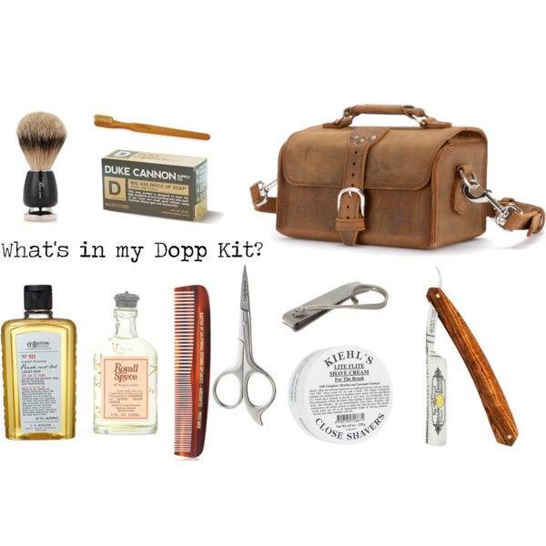 """Dopp kit goodness."" by saddlebackbags on Polyvore"