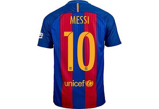 on sale ed673 2b66e 2016/17 Nike Leo Messi FC Barcelona Home Jersey. Available ...